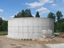 Reconstruction and expansion of waste water system in Cesis