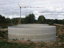 Biogas production plant in Sopuški