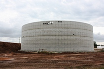 Biogas production plant in Litene