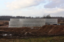 Biogas production plant in Priekule 1st Part
