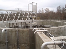 Wastewater treatment plant in Ergli