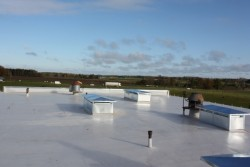 Roof renovation of Stalbe secondary school