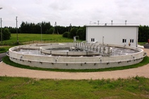Wastewater treatment plant in Valka