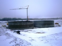 "2 pc. Biogas tanks at ZS ""Vecsiljāņi"""