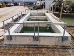 Reconstruction of water treatment plant for Cemex