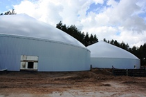 3 monolithic reinforced concrete tanks in Salaspils