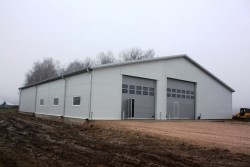 Construction of Agricultural hangar