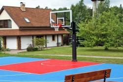 Construction of a multifunctional streetball field