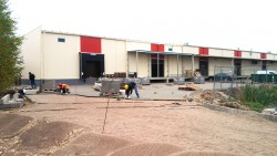 Construction of factory for confectionery production