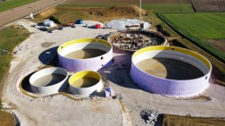 Construction of six reinforced concrete tanks in Traubach-le-Bas, France